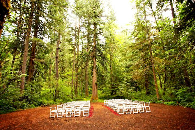 Champagne wedding and event coordination brosnan for Wedding dress rentals portland oregon