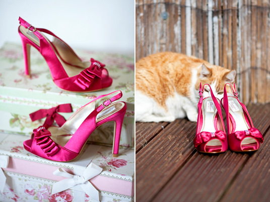 wedding photographer, Dublin, wedding shoes, cat
