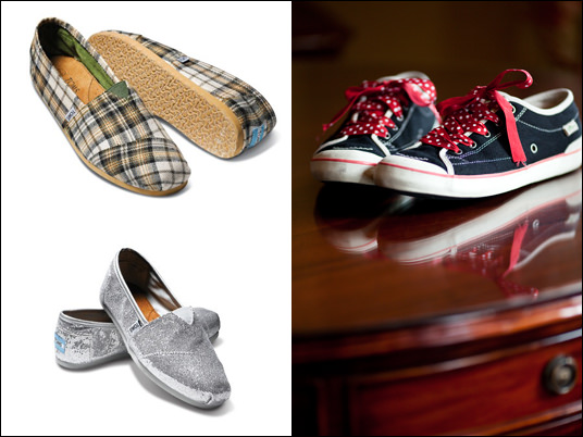 eco friendly wedding shoes, TOMS Shoes, Simple Shoes