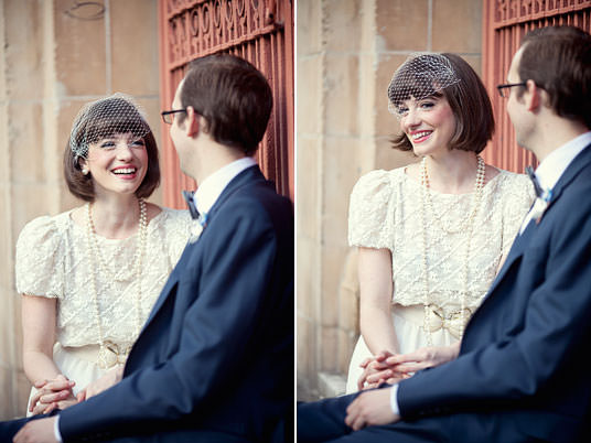 Vintage Wedding Session in London