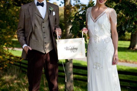 Hackett london wedding suit jenny packham wedding dress jpg