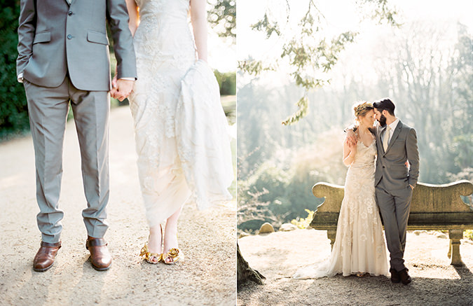 All That Glitters is Gold Wedding Inspiration Shoot | Brosnan ...