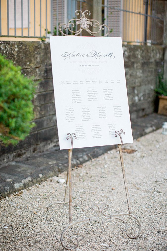 An Irish Destination Wedding At Villa Le Molina Lucca